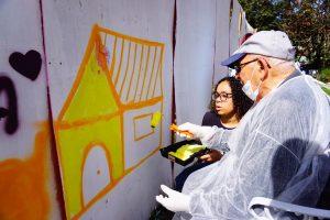Idosos no Grafite 7